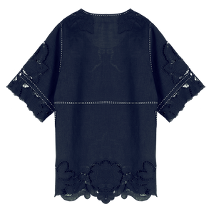 Rosemary Cut-Embroidered Blouse