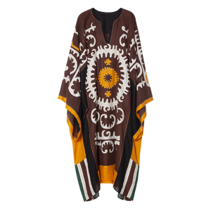 Santal Kaftan Dress - DO NOT POST