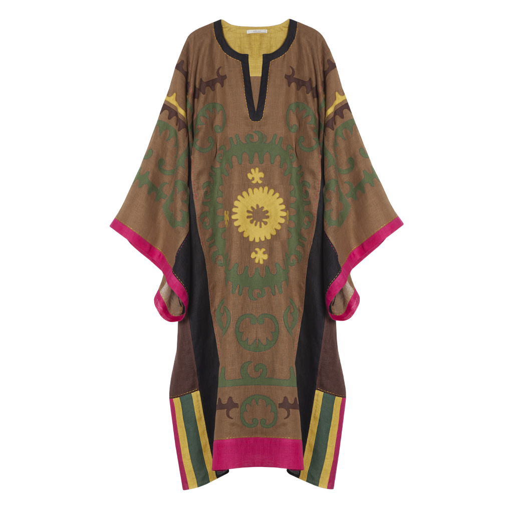 Santal Kaftan Dress