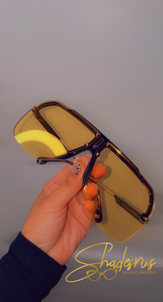 Carrera Yellow Sport Frames