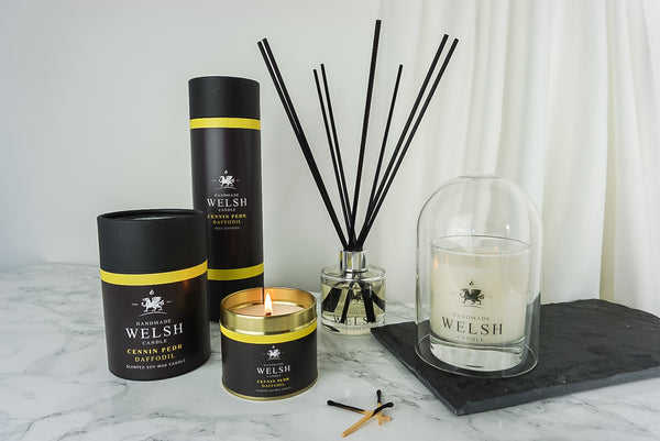 Handmade Welsh Candle | Welsh Candles