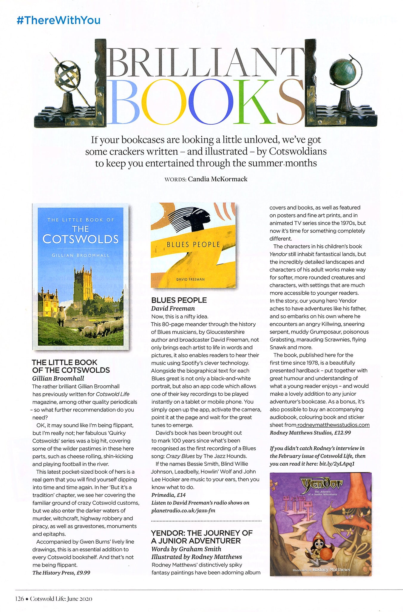 Yendor Review in Cotswold Life