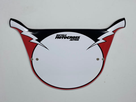 NP-Replica Bicycle Motocross Action Pro Plate Number Plate