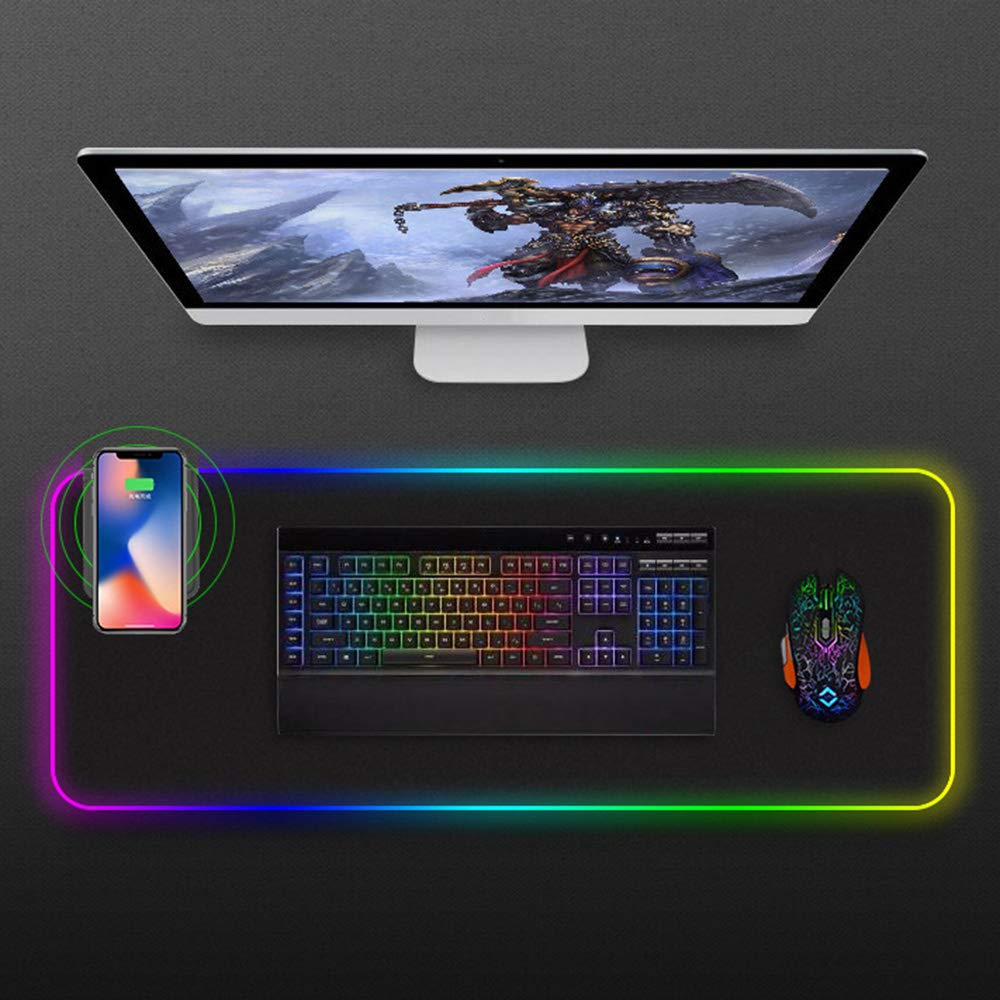 VREX LED MOUSE PAD WITH WIRELESS CHARGING