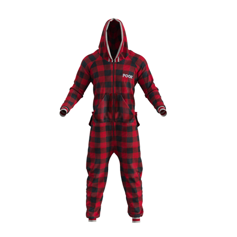 Pook Onesie Men's/Women's Red