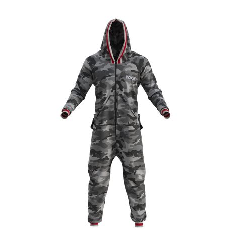 Pook Camo Onesie - Men's and Women's