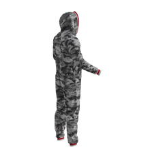 Load image into Gallery viewer, Pook Onesie - Camo Grey (Adult Unisex)