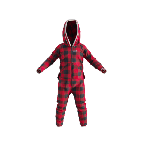 Pook Onesie - Child's Red