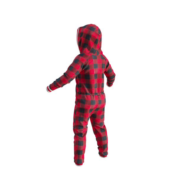 Pook Onesie - Red (Child Unisex)
