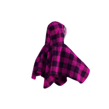 Load image into Gallery viewer, Pookie Poncho - Pink Toddler/Youth Polar Fleece