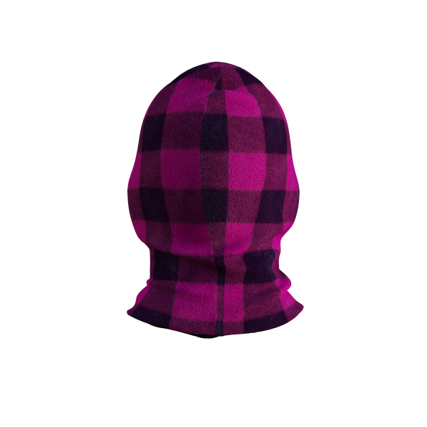 Pook Ninja Pink Plaid And Black Double Layer Polar