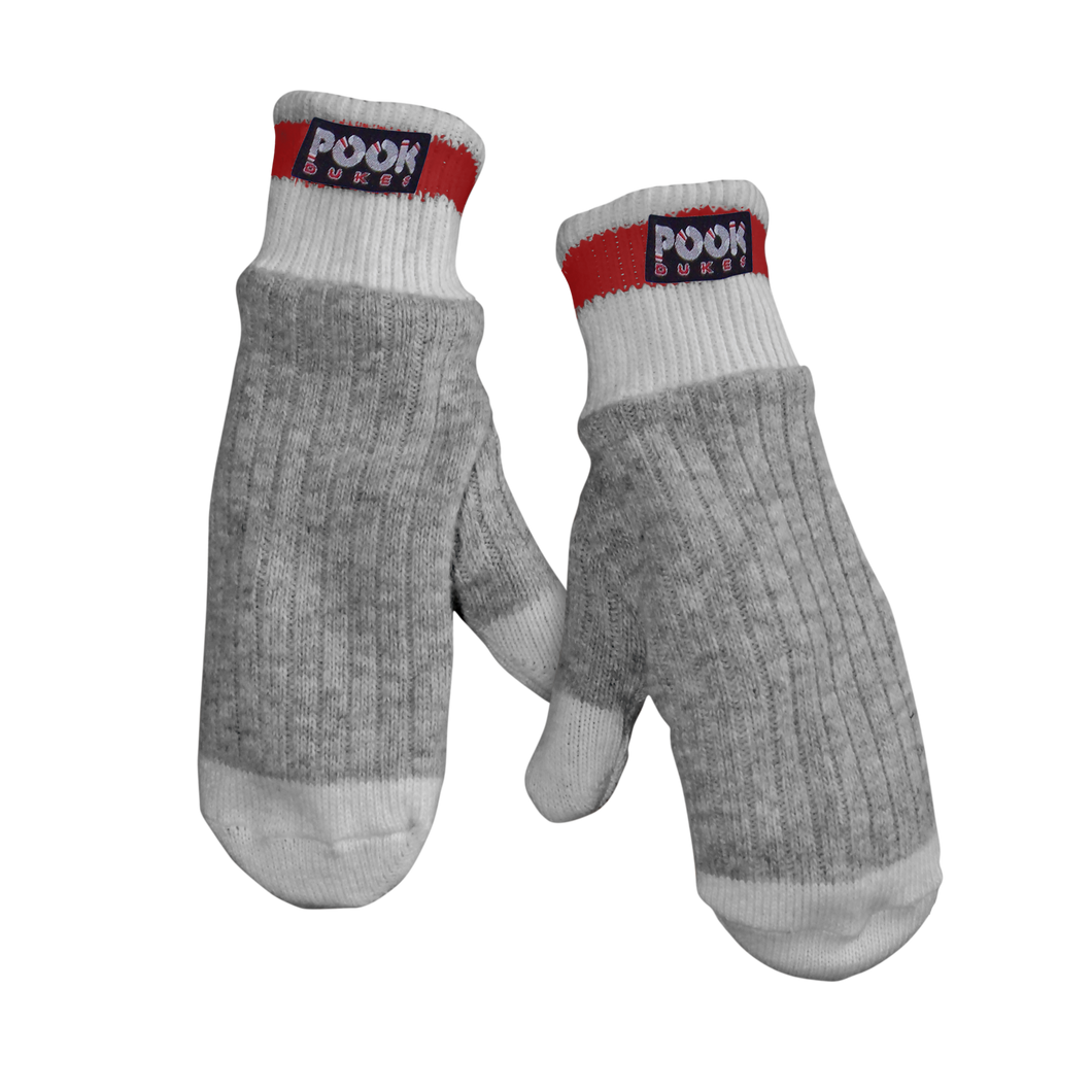 Pook Dukes - Red Adult Sock Mitts