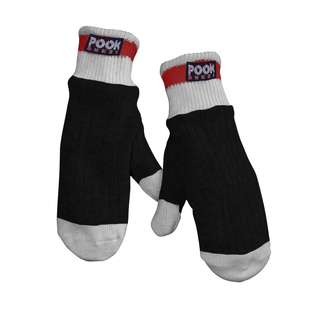 Pook Dukes - Black Adult Sock Mitts