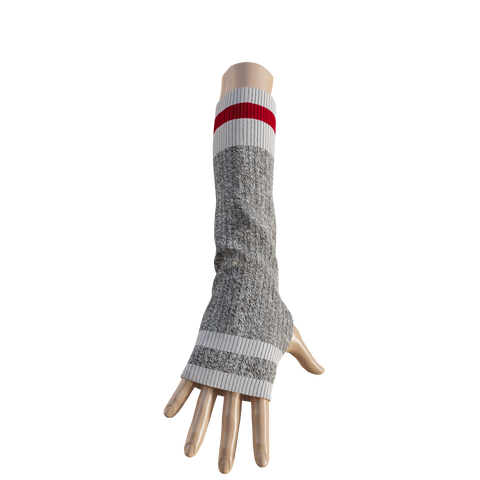 Pook Elbow Highs - Red Texting Mitts
