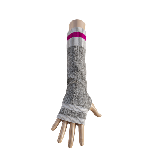 Pook Elbow Highs - Pink Texting Mitts