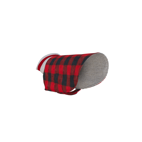 Pook Pooch Reversible - Red Polar Fleece & Wool