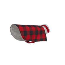 Load image into Gallery viewer, Pook Pooch Reversible - Red Polar Fleece & Wool