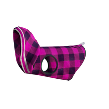 Load image into Gallery viewer, Pook Pooch Hoodie - Pink Polar Fleece
