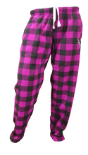 Load image into Gallery viewer, Pook Pink Plaid Pajama Pants