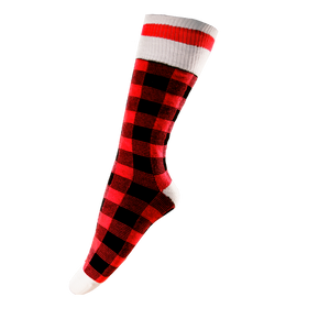 Pook Socks - Red Plaid