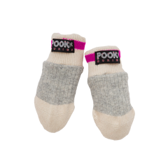 Pookie Dukie - Pink Thumbless Mitts (Infant)
