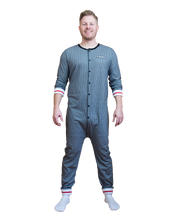 Load image into Gallery viewer, POOK (Grey Sock Style) Union Suit