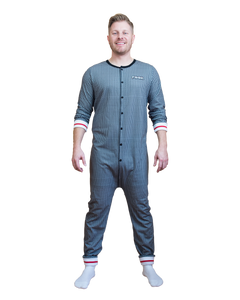 POOK (Grey Sock Style) Union Suit