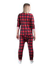 Load image into Gallery viewer, POOK (Red Plaid) Union Suit