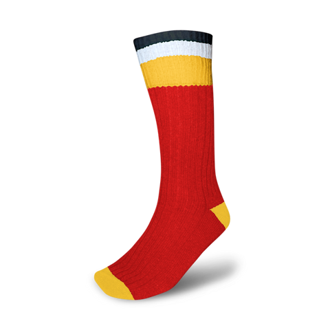 Wool Socks - Flames
