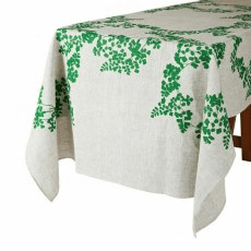 Bonnie And Neil tablecloth - maidenhair green
