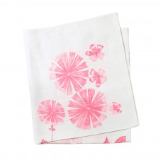 Bonnie and Neil tablecloth - summer floral pink