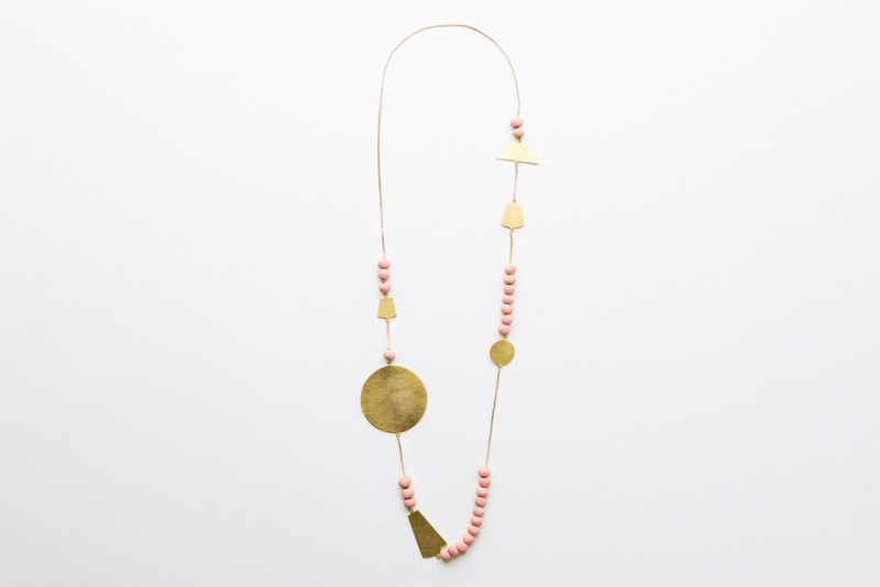 We Dream in Colour | kiketa gold necklace