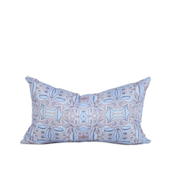 Bunglo | navy picos cushion | 50x30