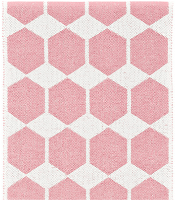 Muskhane | paddy rug 120cm | rose quartz