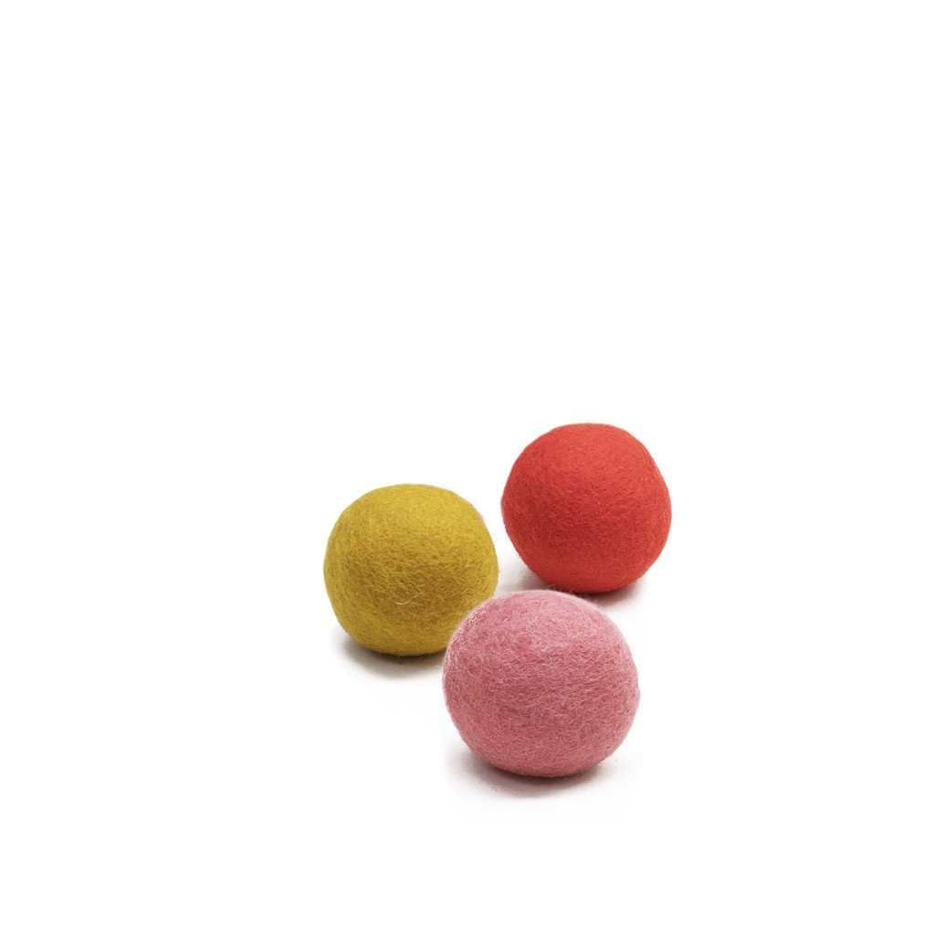 Muskhane felt balls (luminous)-felt ball-muskhane-mondocherry