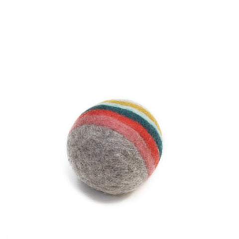 Muskhane indreni felt ball (light stone)-felt ball-muskhane-mondocherry