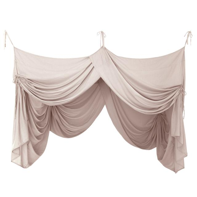 Numero74 bed drape single (powder)