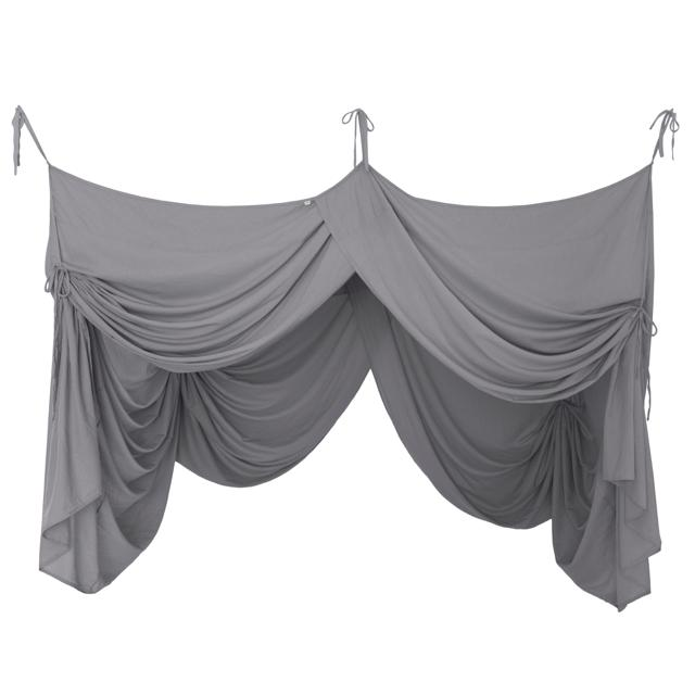 canopy - Numero74 | bed drape single | stone grey - mondocherry