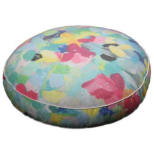 """stay a while"" floor cushion - cushion - mondocherry - home : style : design - 2"