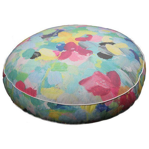 Muskhane large smartie cushion (rose quartz)