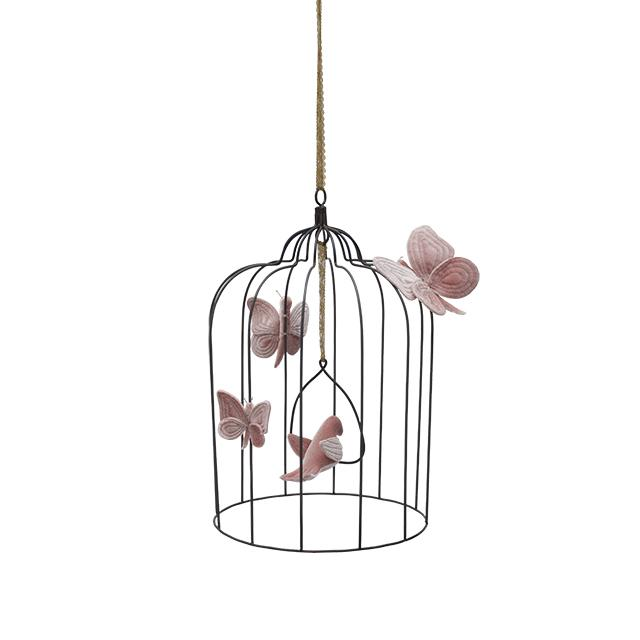 birdcage - Numero74 | birdcage | large | dusty pink - mondocherry