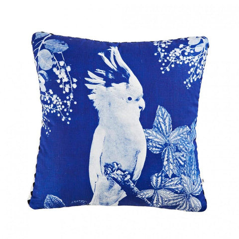 big major cushion blue