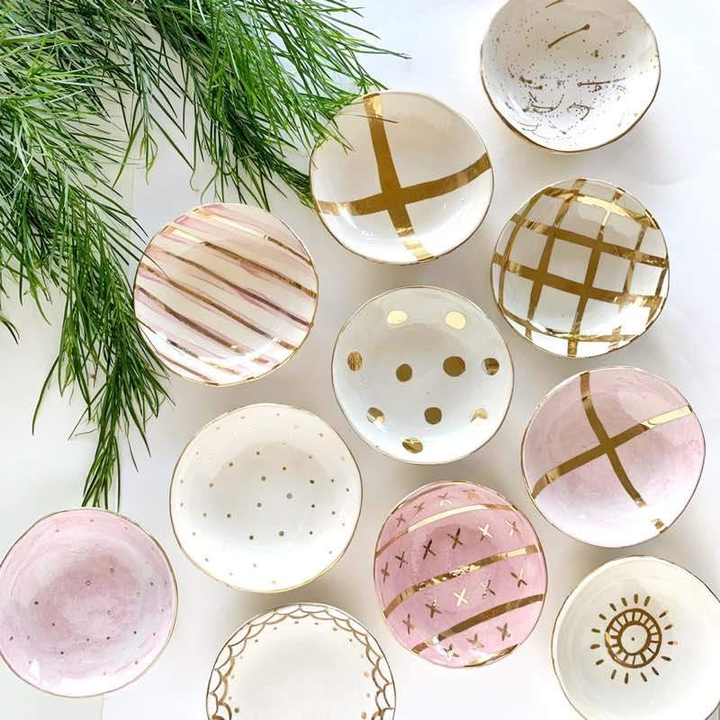 Carla Dinnage Ceramic Bowl collection