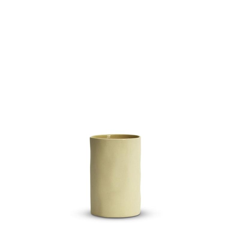 Marmoset Found ceramic cloud vase - lemon
