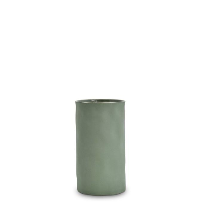 Marmoset Found ceramic cloud vase - moss