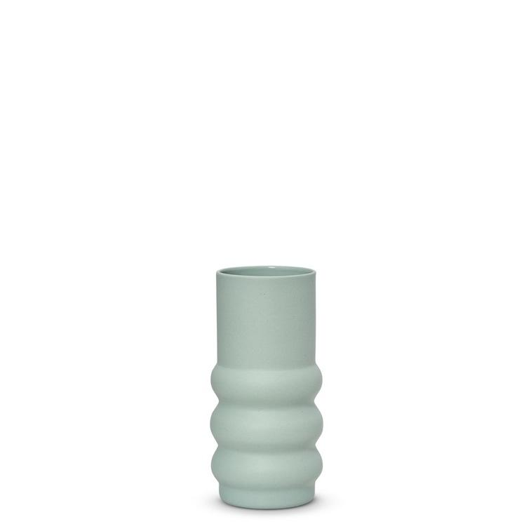 Marmoset Found ceramic cloud haus vase - light blue