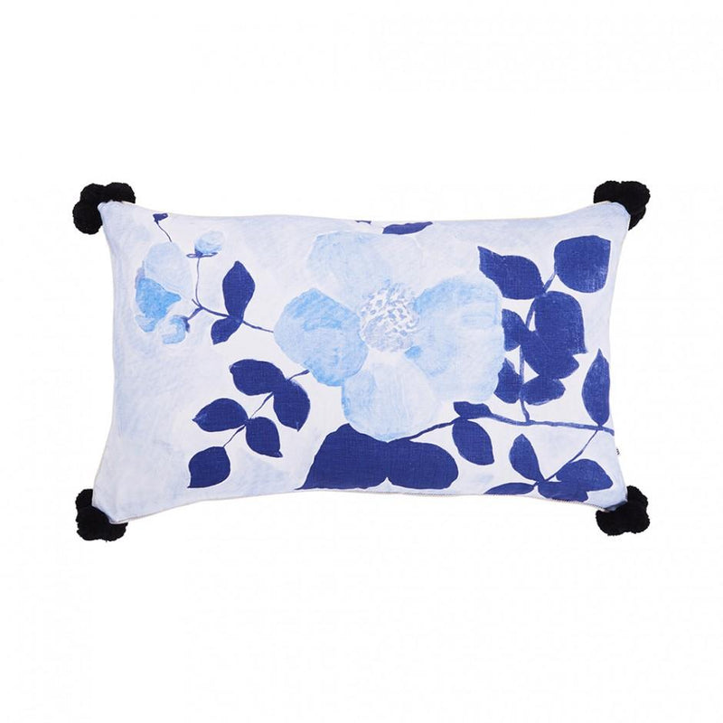 Bonnie and Neil cushions - tea rose blue - front