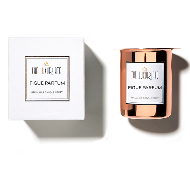figue parfum candle insert