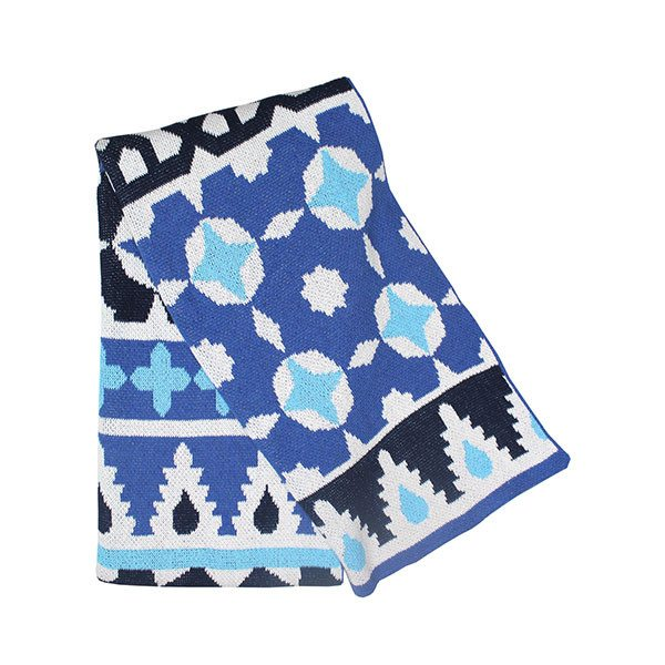 Happy Habitat fez throw (blue) - decorative - mondocherry - home : style : design - 1