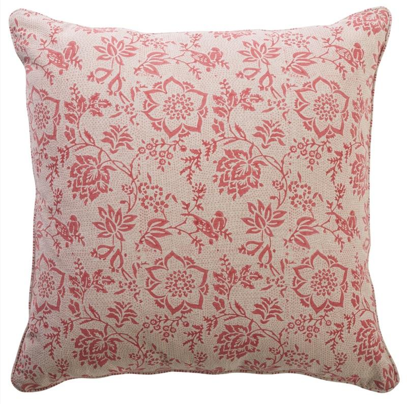cushion - Canvas and Sasson | flora peony cushion - mondocherry